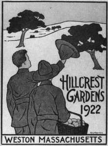 A poster for the Hillcrest Gardens