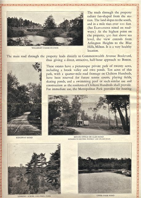 Pages from the Chiltern Hundreds brochure