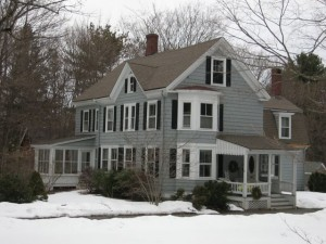 Gowell / Parker House at 25 Conant Road