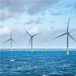 offshore windpower turbines