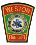 Weston Fire Department patch