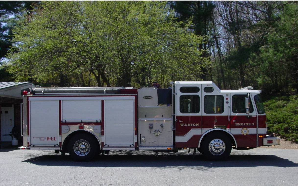 Engine 3 fire apparatus
