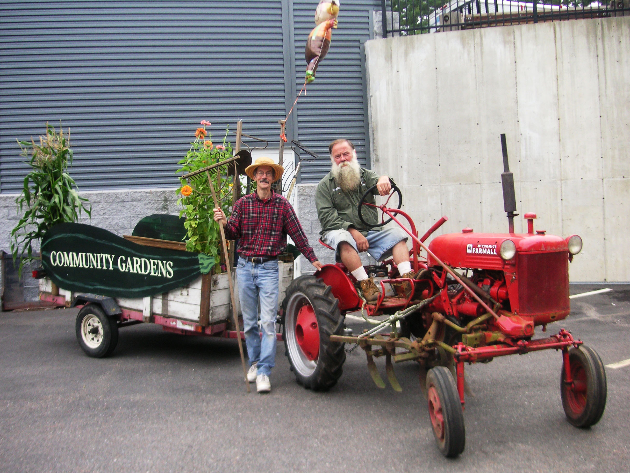 Community Gardens Tractor and Cart