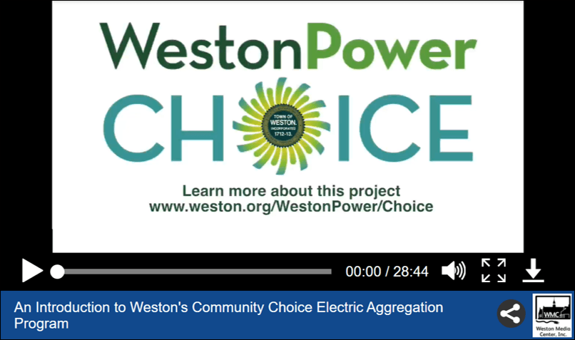 screenshot of the weston power choice video