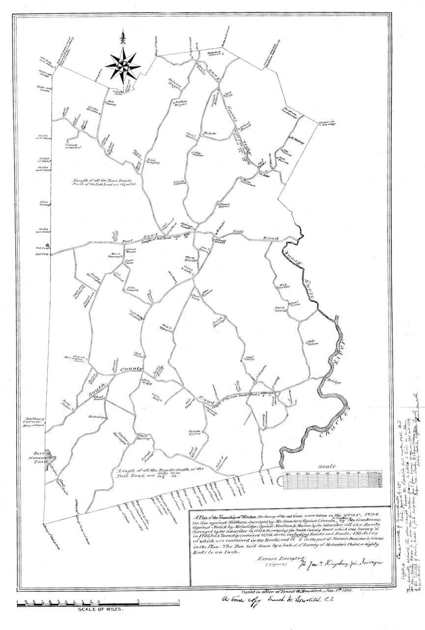 1794 Kingsbury Map